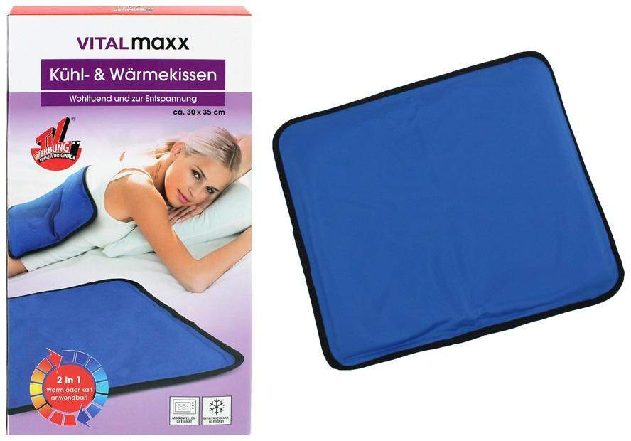 VITALmaxx Wärme- und Kühlkissen 2 in 1 - ca 30x35cm