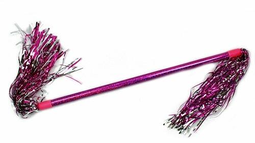 Tanzstab - Cheerleaderstab - mit Lamettafäden - ca 46cm