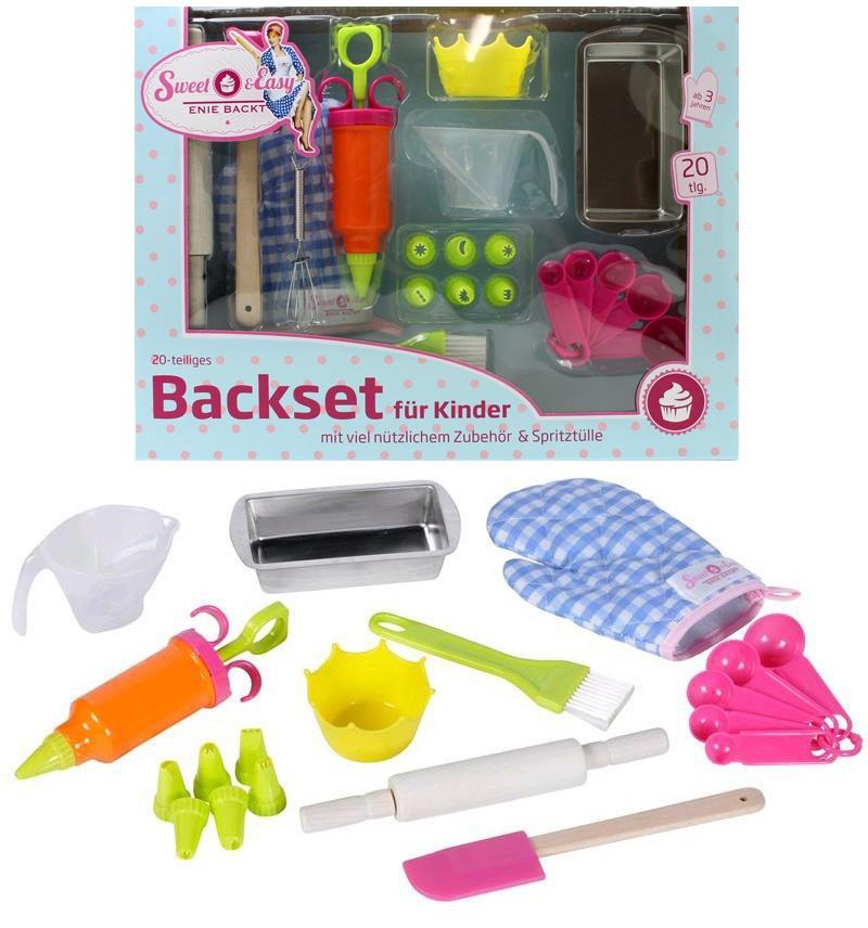 Sweet & Easy Enie backt - Blech Backset für Kinder 20 teilig