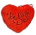 Herz rot Ich liebe Dich ca  26 cm