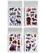 Sticker sortiert Katze, Hunde, Dino,Pferd - Bogen ca 13x9cm