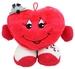 Plüsch Herz mit Arme und Beine stehend ca 24x28cm