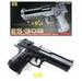 Kugelpistole mit Magazin max 0,08 Joule - ca 18 cm