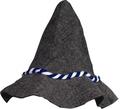 Seppl Hut mit blau-weißer Kordel