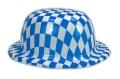 Hut Melonenform mit Bayern Design