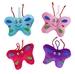 Schmetterling mit Gesicht 4-fach sortiert - ca 12cm