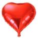 Luftballon Folienballon Herz rot ca 62 cm