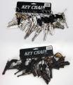 Pistolen sortiert an Schlüsselanhänger ca 8-12cm
