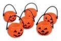 Halloweenkürbis - Minieimer - ca 4x5,5cm